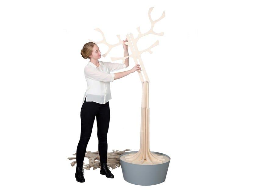 Plywood decorative object LOVI TREE 200CM by Lovi