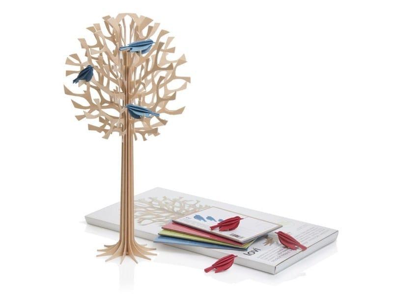 Plywood decorative object LOVI TREE 34CM by Lovi