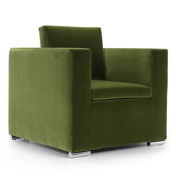 Guest chair with removable cover with armrests LOWELL | Armchair by Domingo Salotti