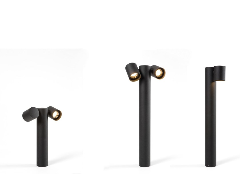 LED bollard light LOWIEZE by Modular Lighting Instruments