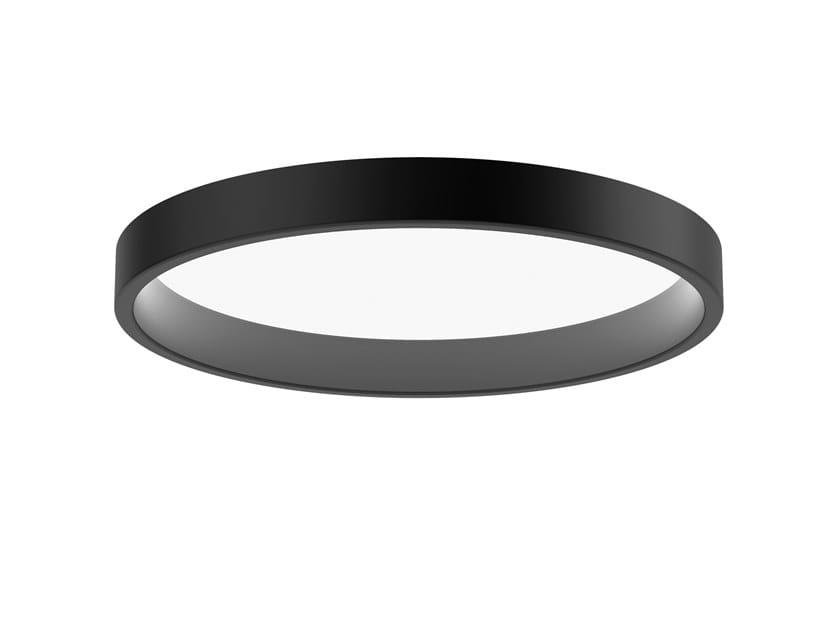 LED semi-inset ceiling lamp LP CIRCLE | Semi-inset ceiling lamp by Louis Poulsen