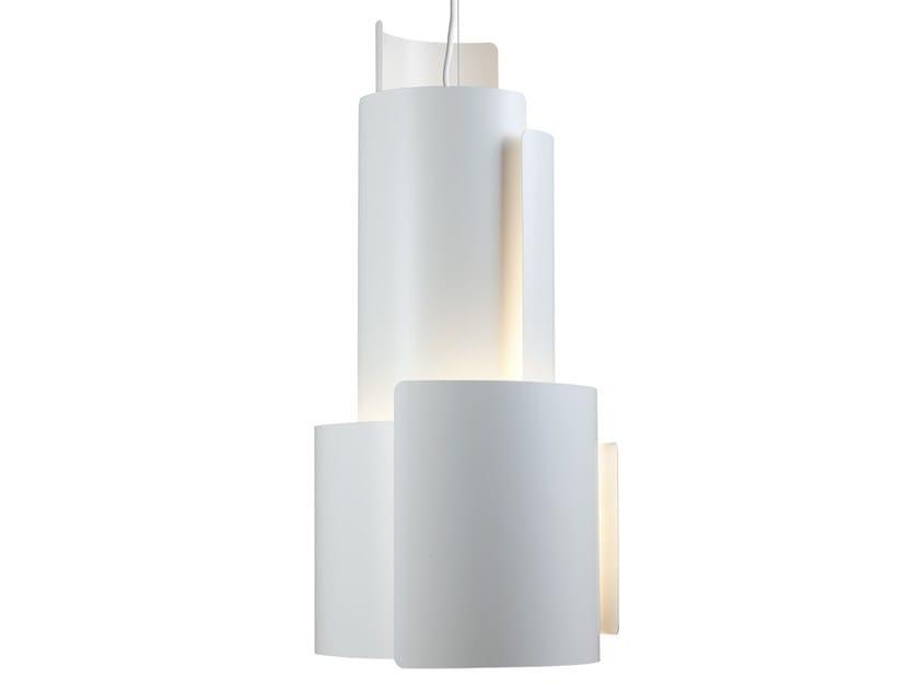 LED aluminium pendant lamp LP CITÉ by Louis Poulsen