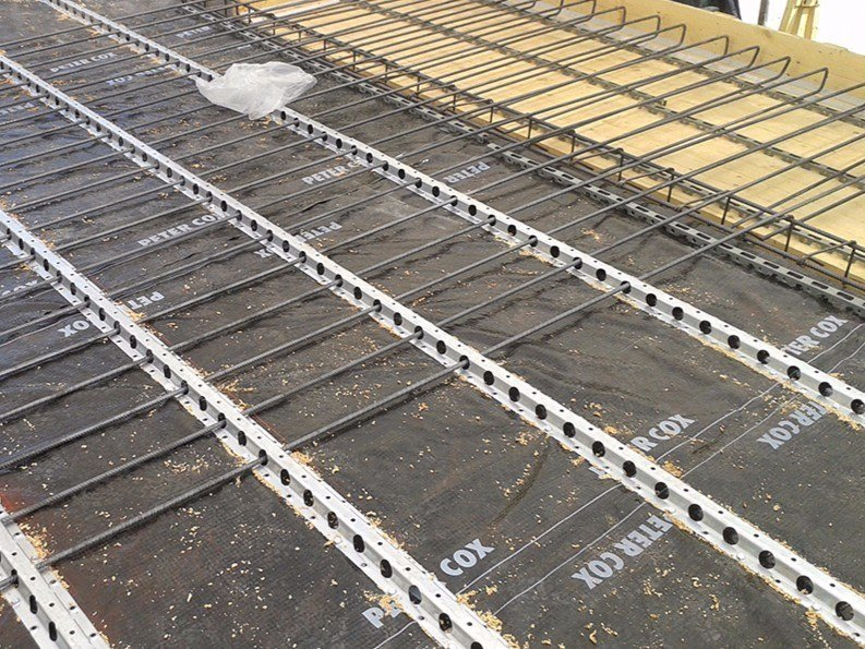 Consolidation of floor slab and timber structure LPR® AND FLAP SYSTEM by PETER COX