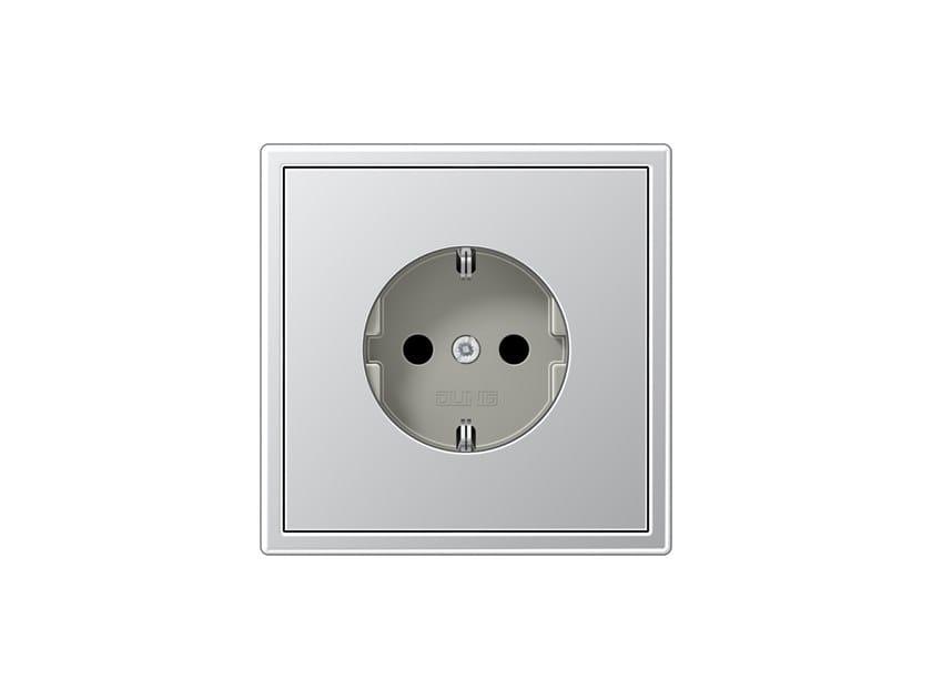 Presa elettrica in alluminio LS 990 | Presa elettrica in alluminio by JUNG