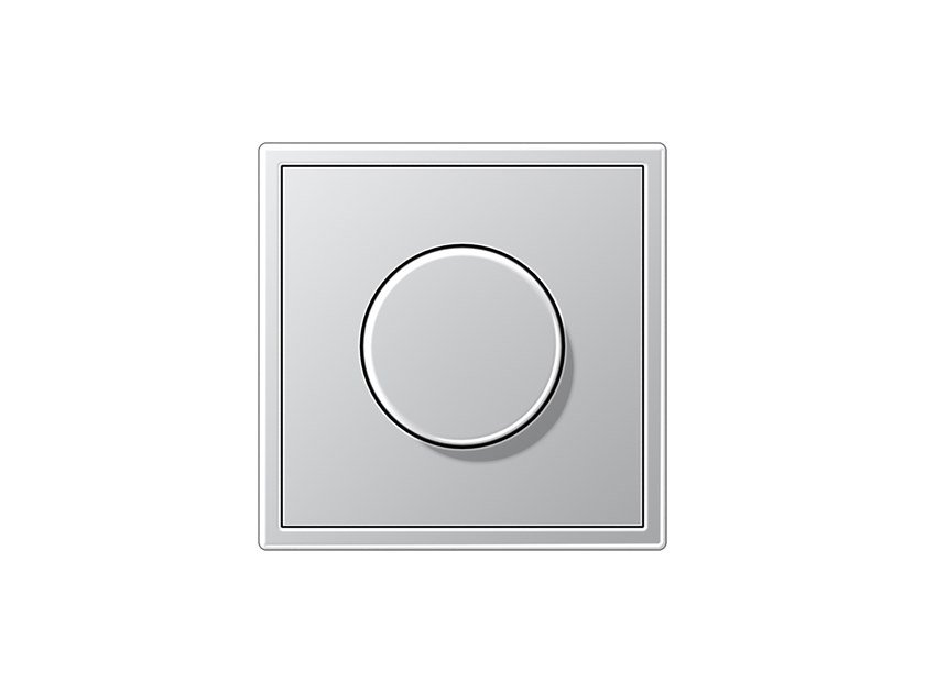 Dimmer in alluminio LS 990 | Dimmer by JUNG
