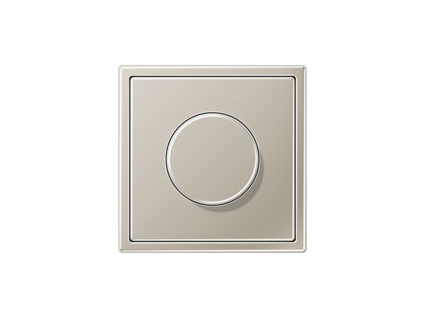 Stainless steel dimmer LS 990 | Dimmer by JUNG