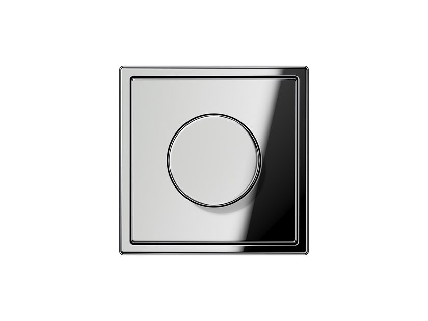 Chrome plated dimmer LS 990 | Dimmer by JUNG