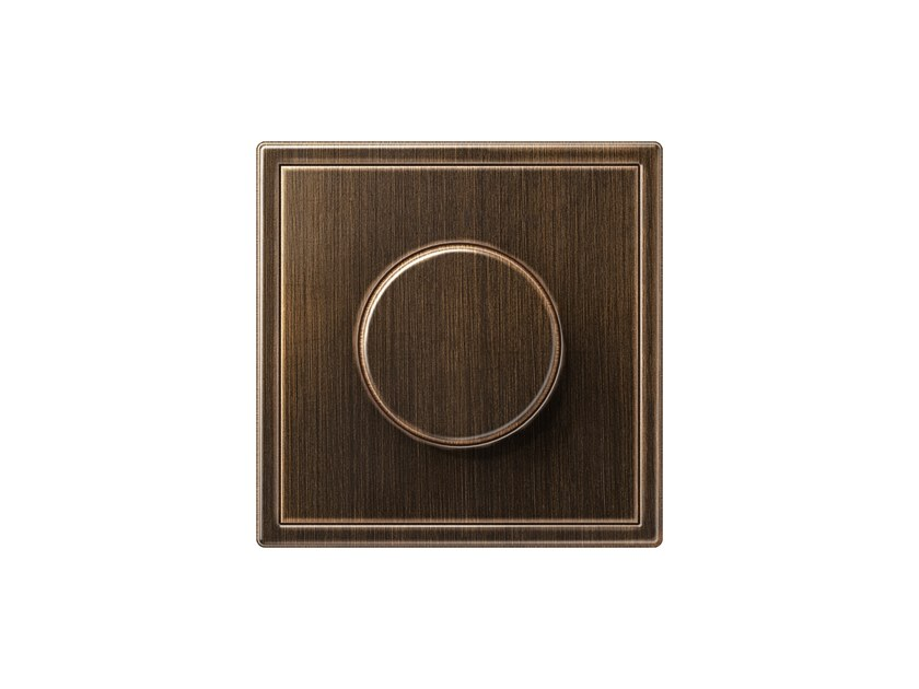 Brass dimmer LS 990 | Dimmer by JUNG