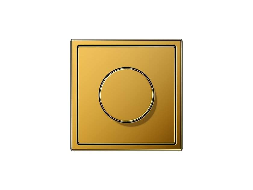 Dimmer in oro LS 990 | Dimmer by JUNG