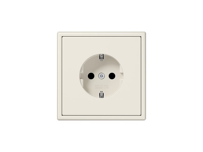 Plastic electrical outlet LS 990 | Plastic electrical outlet by JUNG