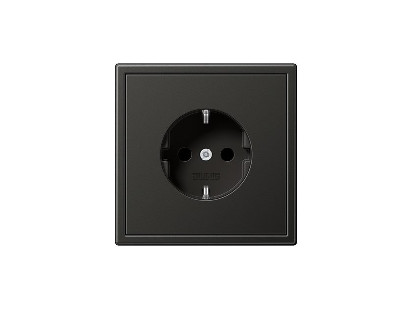 Metal electrical outlet LS 990 | Metal electrical outlet by JUNG