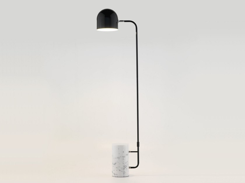 Marble floor lamp LUCA | Floor lamp by Aromas del Campo