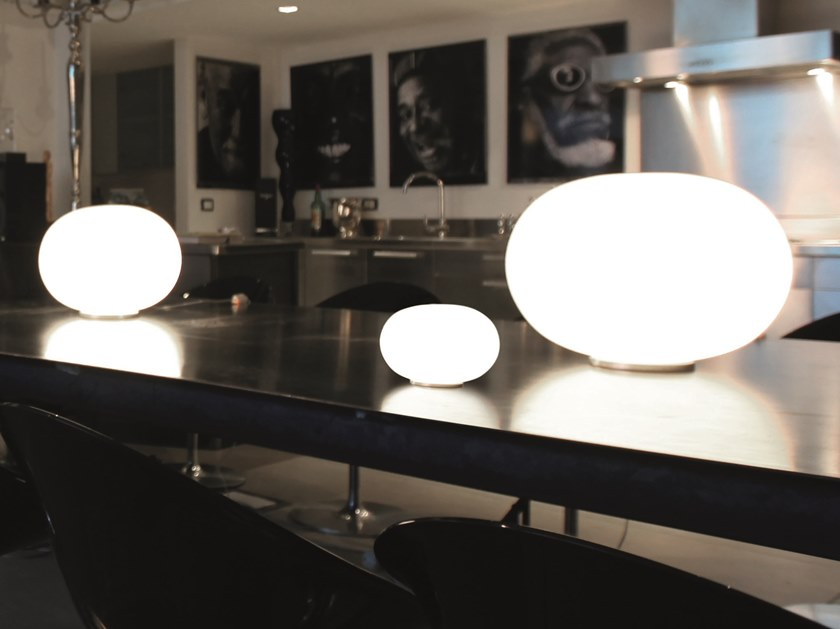 Lámpara de mesa de vidrio soplado LUCCIOLA LT by Vetreria Vistosi