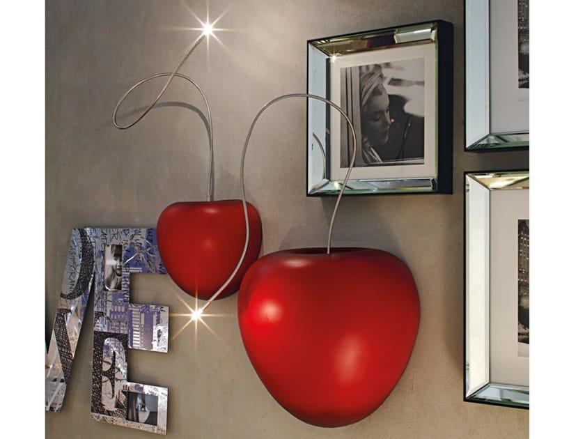 Ceramic wall light LUCCIOLA | Wall lamp by Adriani e Rossi edizioni