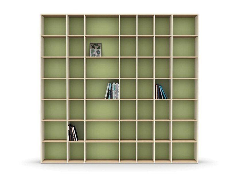 Modular bookcase LUCE | Bookcase by Nidi