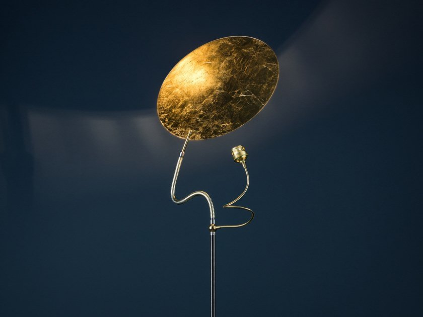 LED floor lamp LUCE D'ORO F by Catellani & Smith