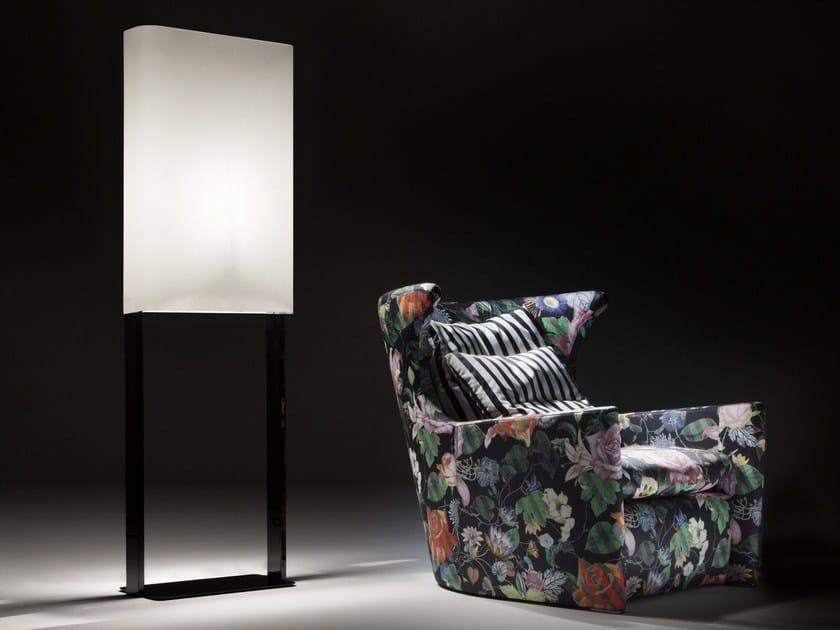 Fabric floor lamp LUCE | Floor lamp by ERBA ITALIA