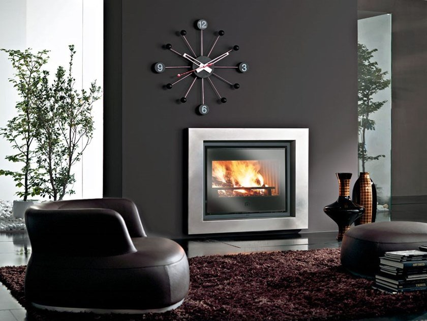 Wood-burning Fireplace insert LUCE PLUS - LUCE PLUS/S by EDILKAMIN
