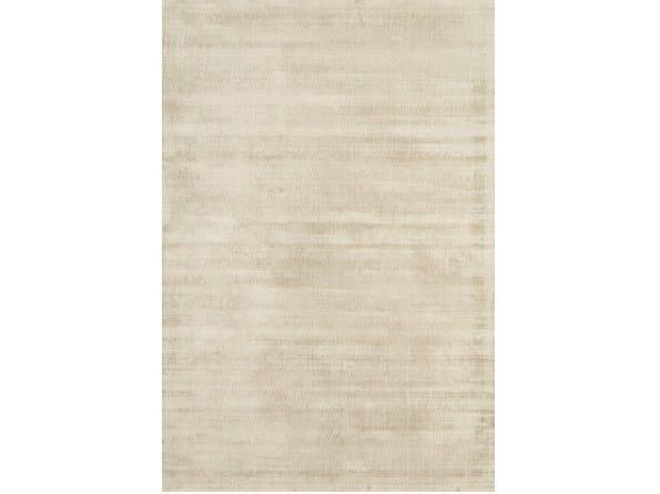 Rectangular viscose rug LUCE by Sirecom Tappeti