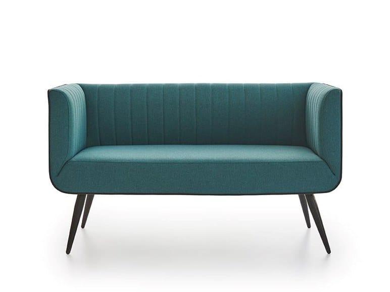 Fabric small sofa LUCE | Small sofa by PARLA