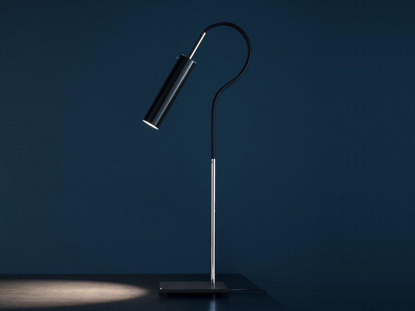 LED adjustable table lamp LUCENERA 200 by Catellani & Smith