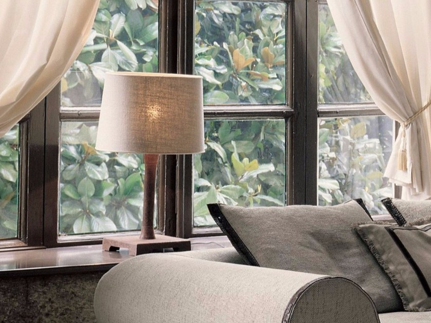 Fabric table lamp LUCILLA | Table lamp by Longhi