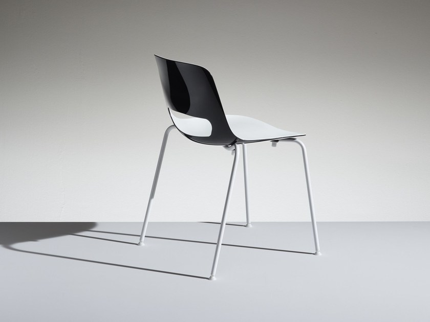 Polypropylene reception chair LUCKY | Reception chair by LAMM