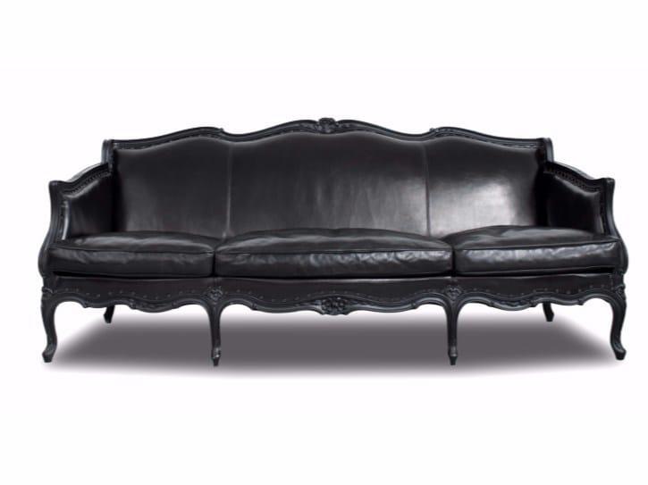 Leather sofa LUCREZIA by BAXTER