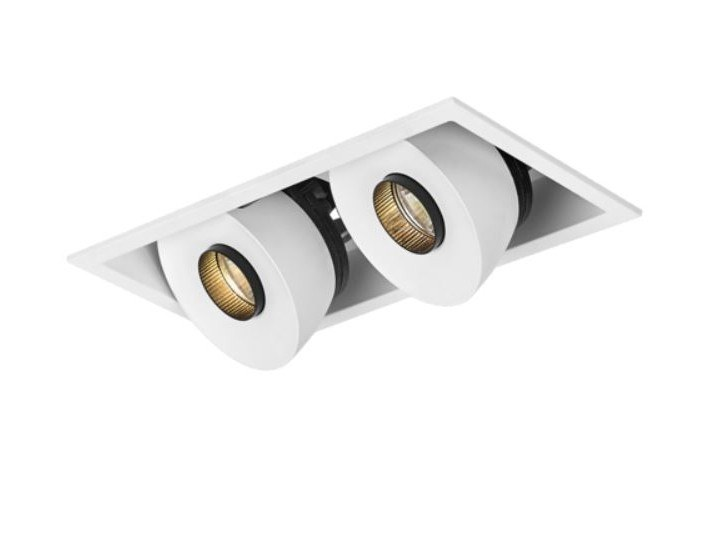 LED multiple recessed spotlight LUCY DOUBLE by LED BCN