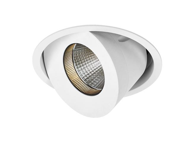 LED adjustable recessed aluminium spotlight LUCY MAX by LED BCN