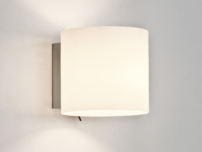 Contemporary style direct-indirect light steel wall light LUGA by Astro Lighting
