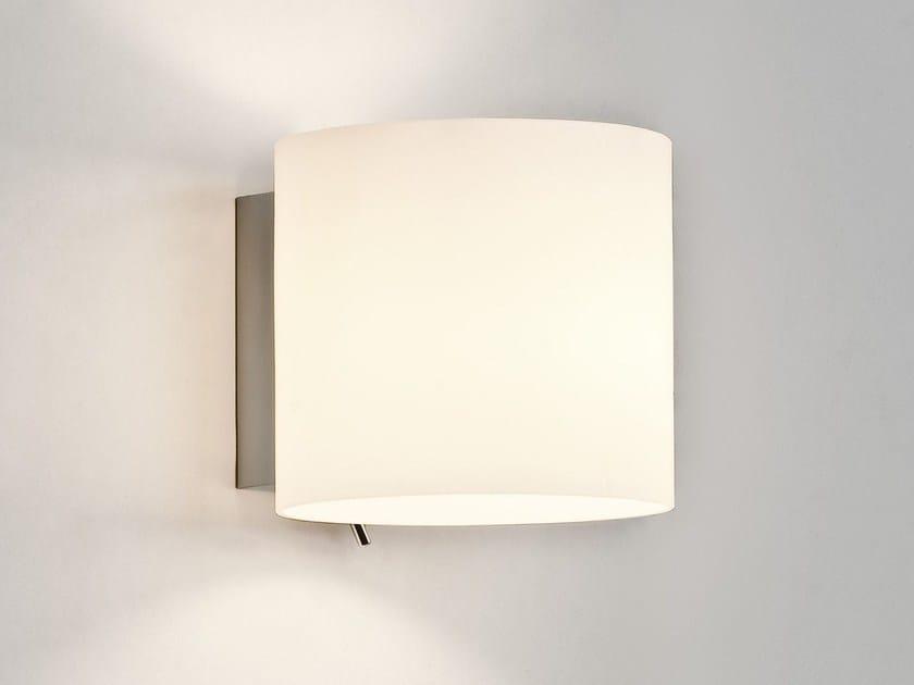 Applique a luce diretta e indiretta in acciaio in stile moderno