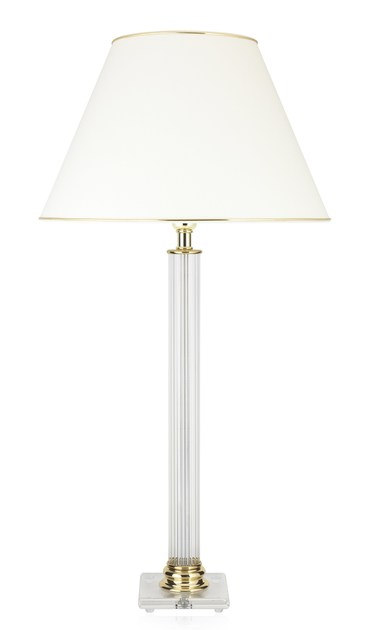 Classic style crystal table lamp LUGANO DL VD by ENVY