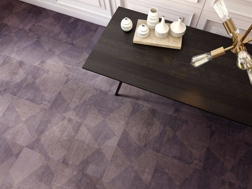 Object Carpet tiles with geometric shapes lugano by object carpet