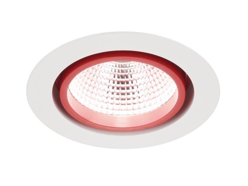 LED round spotlight for false ceiling LUGSTAR PREMIUM LED by LUG Light Factory