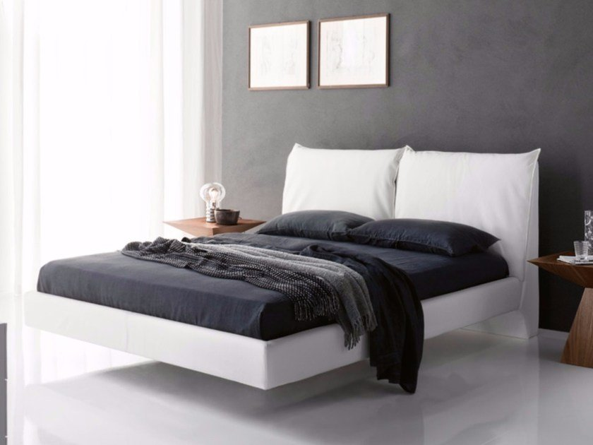 Upholstered double bed LUKAS by Cattelan Italia