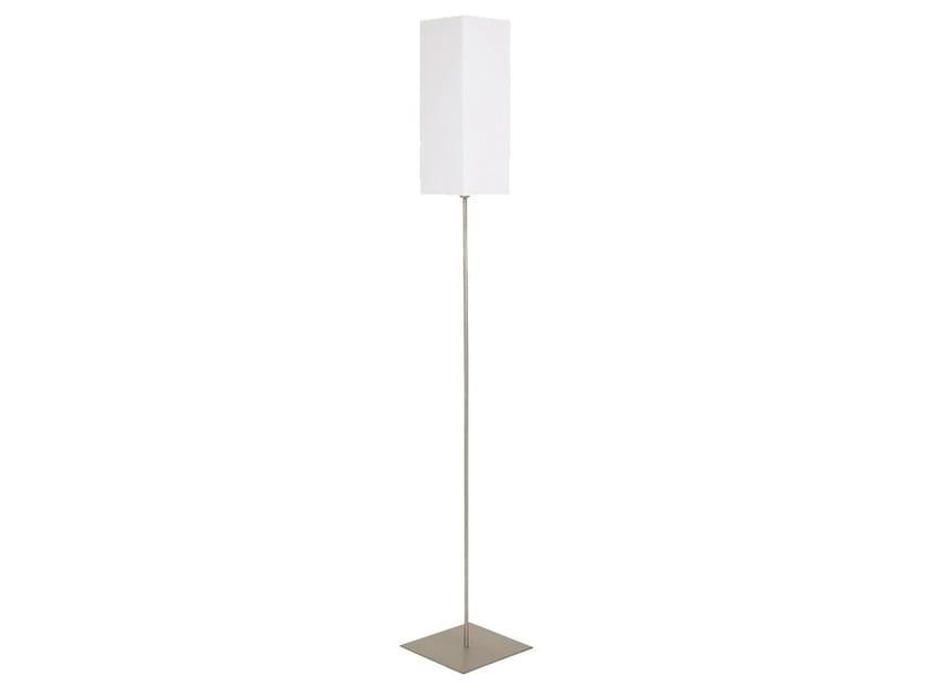 Fluorescent floor lamp LUKO by Brossier Saderne
