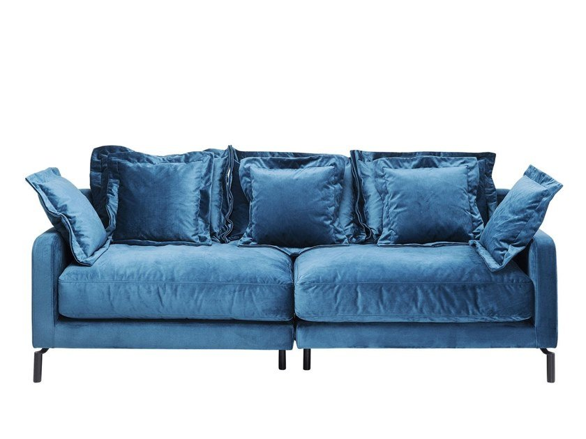 2 seater fabric sofa LULLABY | 2 seater sofa by KARE-DESIGN