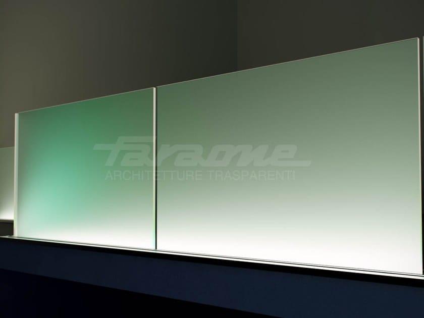 Vetro per LED LUMEN by FARAONE