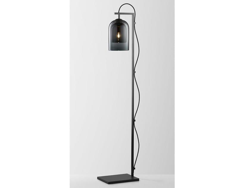 Lampada da terra in acciaio e vetro LUMI | Lampada da terra by Articolo Lighting