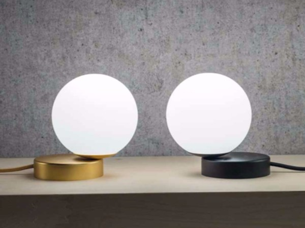 Metal table lamp LUMI by Marchetti
