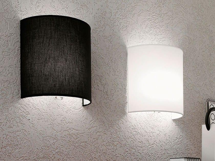 Fabric wall light LUNA by Adriani e Rossi edizioni