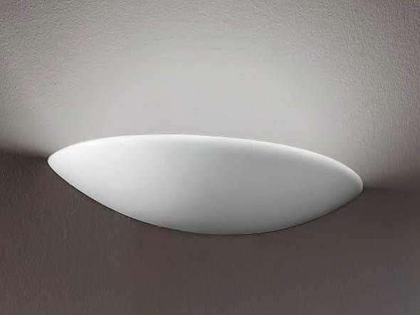 Indirect light wall light LUNA by Aldo Bernardi