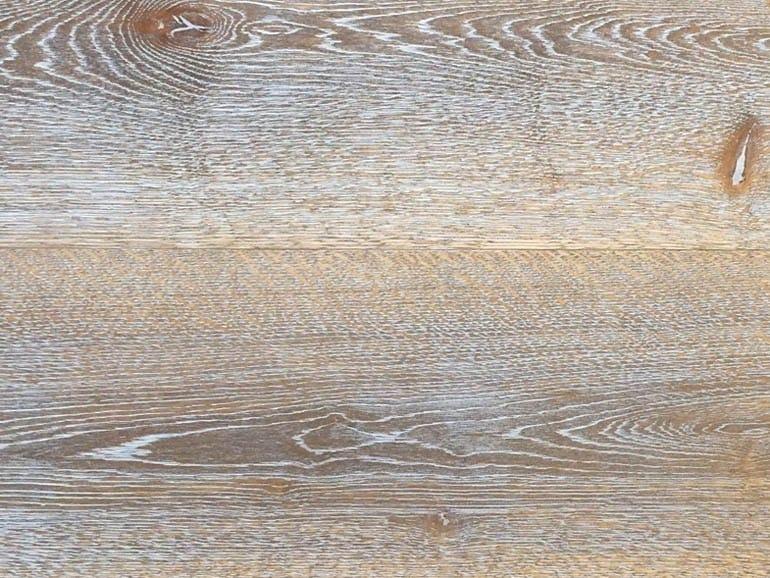 Brushed oak parquet LUNA CHIARO by Lignum Venetia