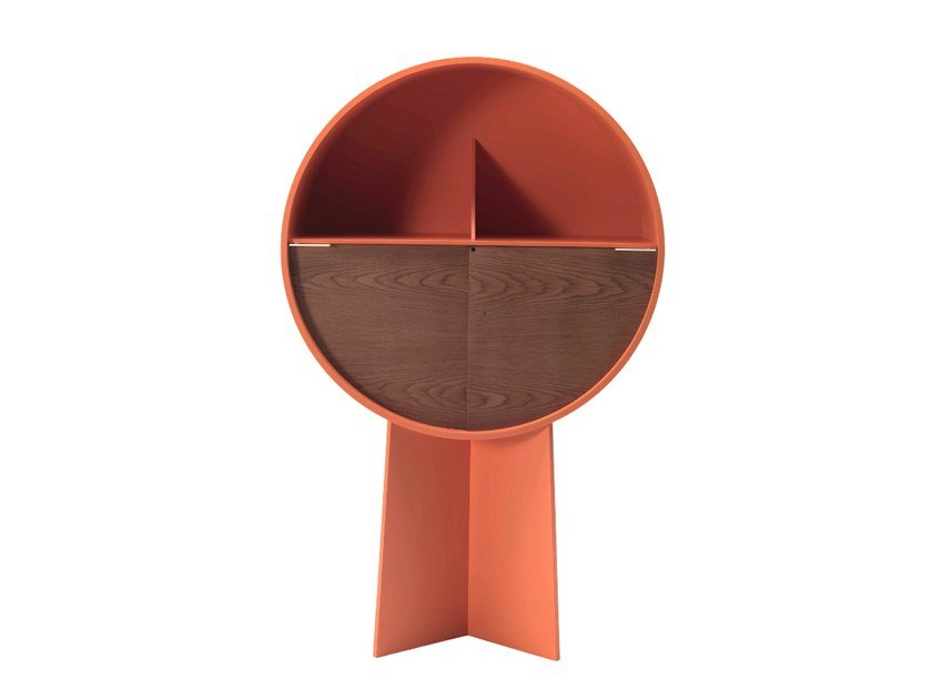 Lacquered MDF highboard LUNA by COEDITION