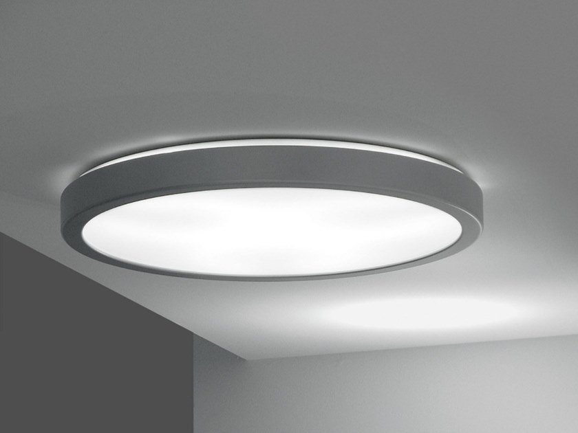 LED methacrylate ceiling lamp LUNA | Ceiling lamp by Martinelli Luce