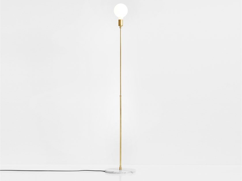 LED direct light floor lamp LUNA | Floor lamp by Lambert & Fils