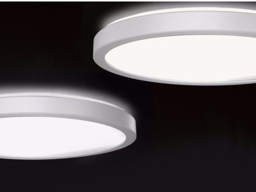 Fluorescent ceiling lamp LUNA | Fluorescent ceiling lamp by Martinelli Luce
