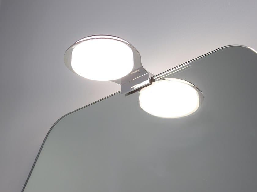 Luna Light Lampen : Led mirror lamp luna by koh i noor design itamar harari