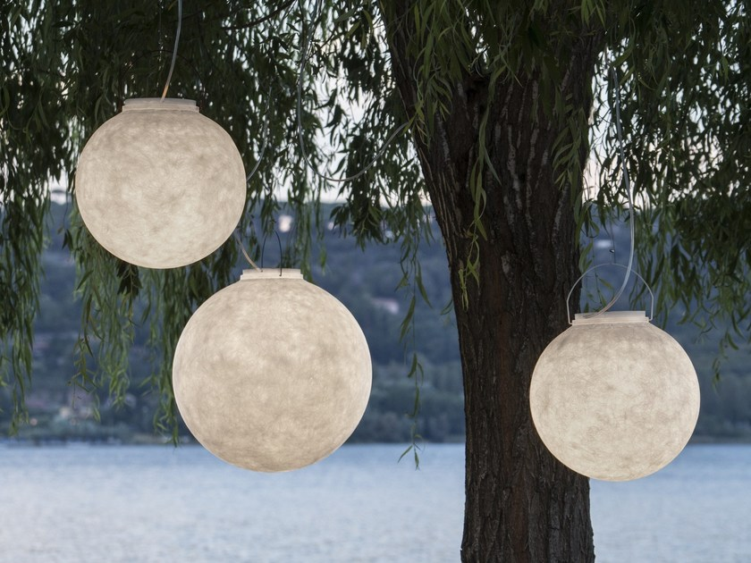 LED Nebulite® pendant lamp LUNA OUT by In-es.artdesign